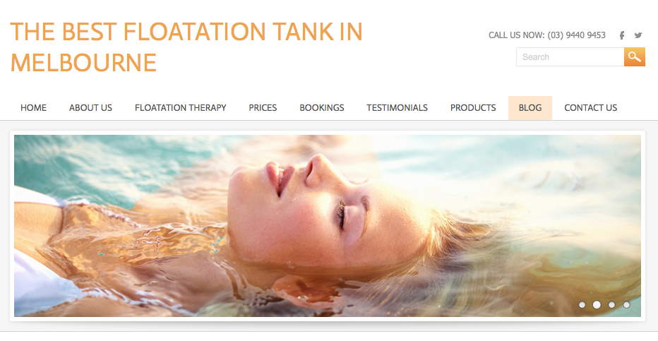 Floatation Tank Melbourne