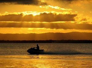 Photo Jet Ski Bribie Island - Creative Commons JAM Project