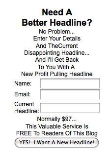Your Next Killer Headline is FREE!