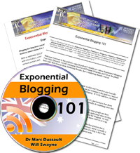 Exponential Blogging 101